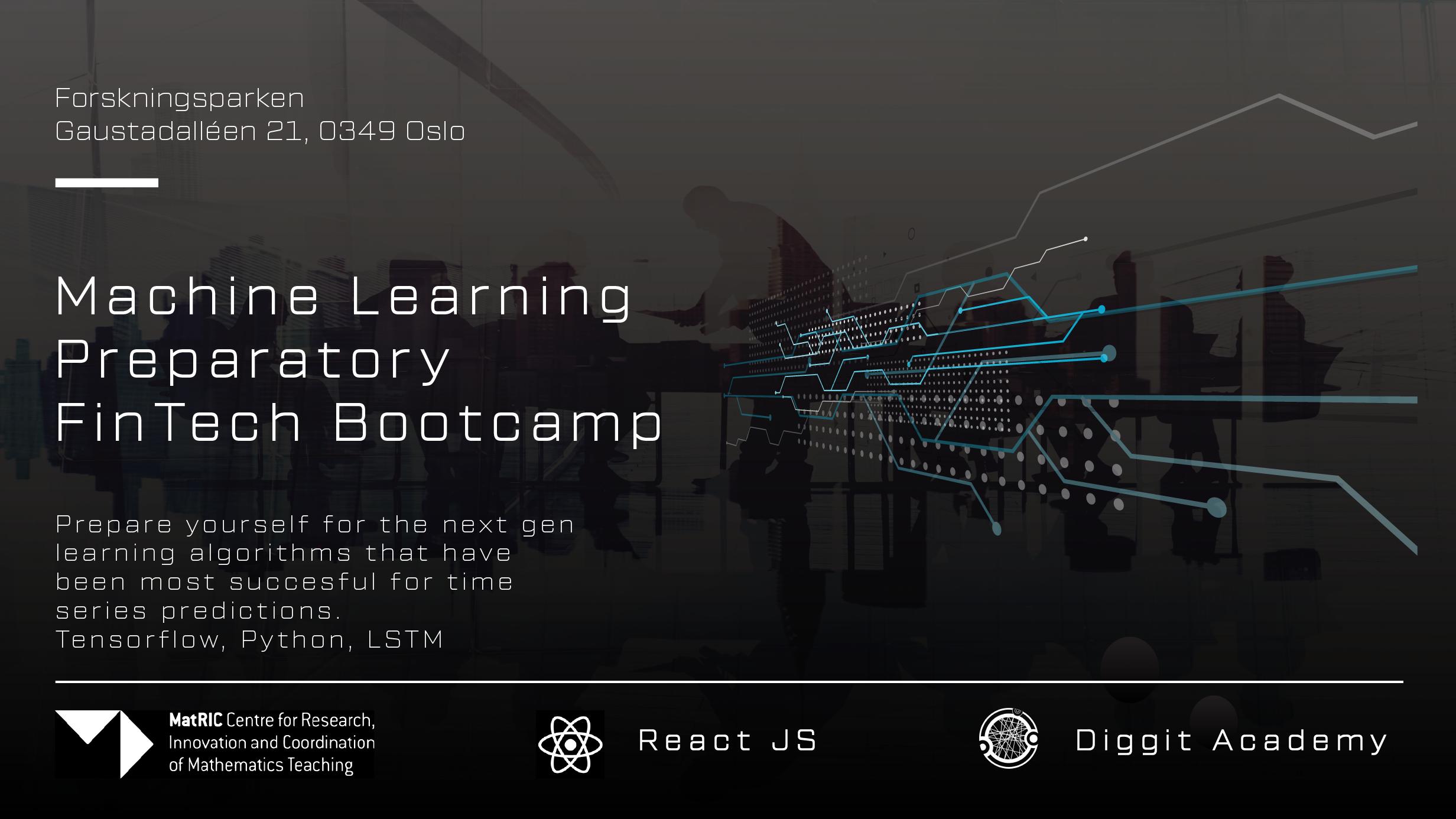 Machine Learning Preparatory FinTech Bootcamp – NAIS